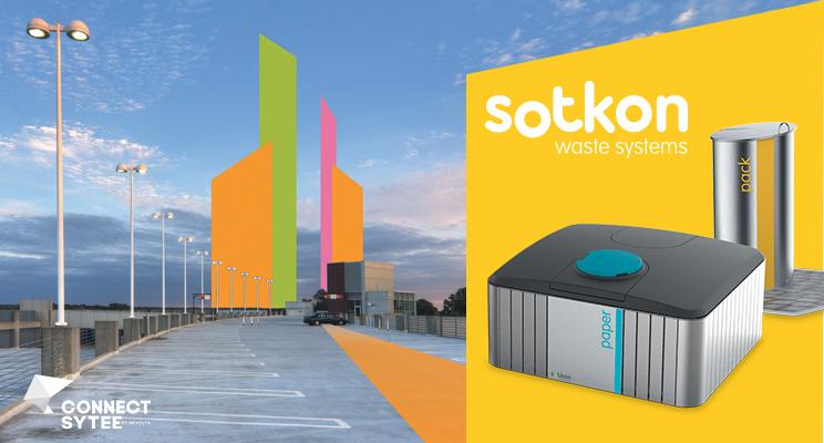 Sotkon, une solution innovante pour la gestion des déchets en ville