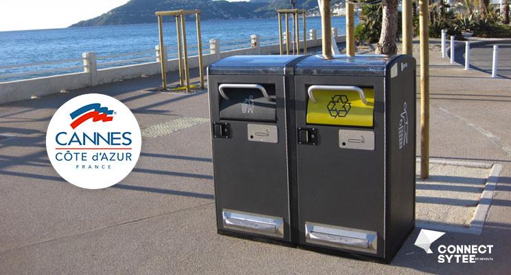 Cannes adopte la gestion intelligente des déchets avec Bigbelly