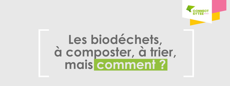 Les biodéchets à composter, mais comment ?